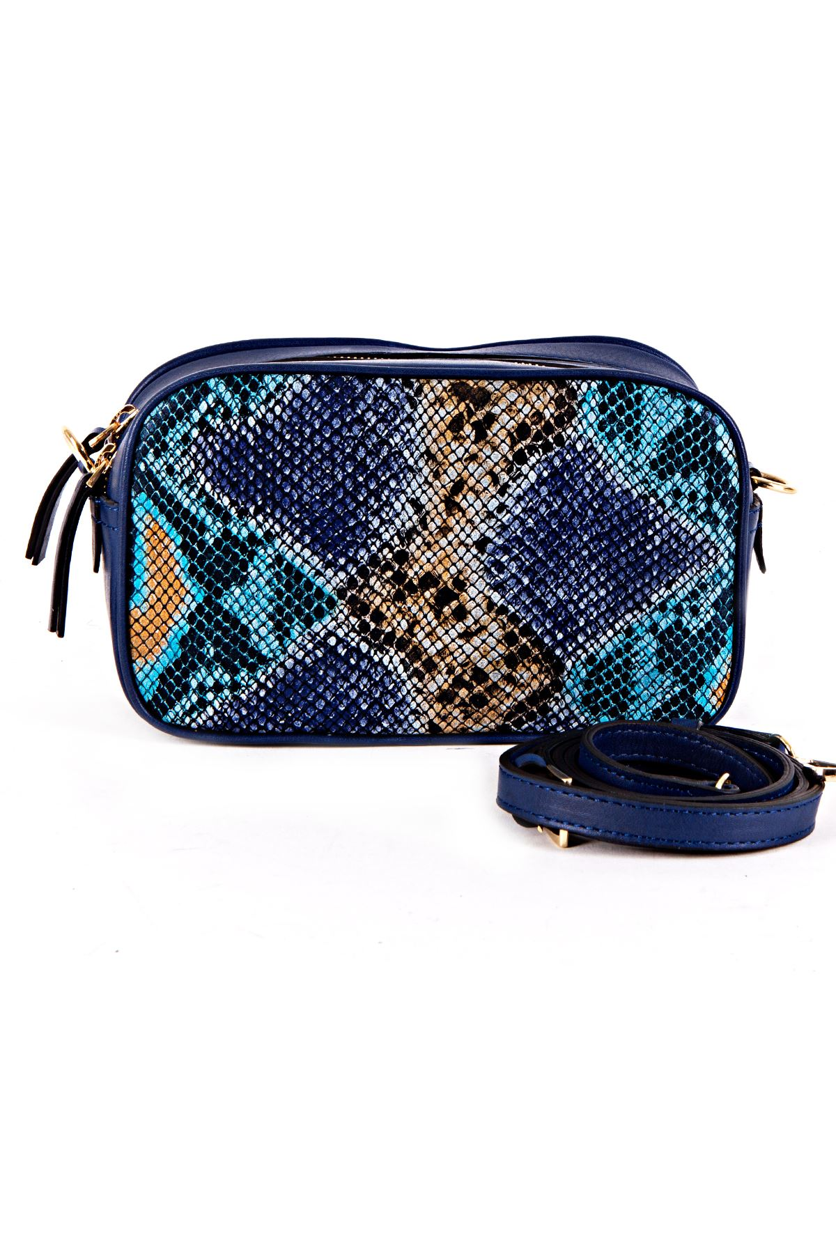 resm Leather Blue Snake