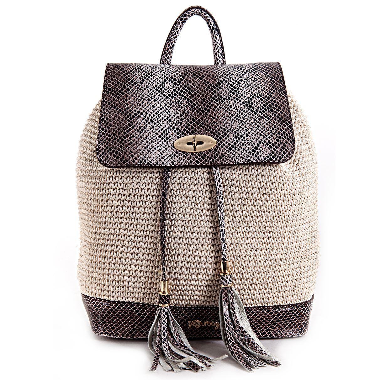 resm Covered Natural Bagpack